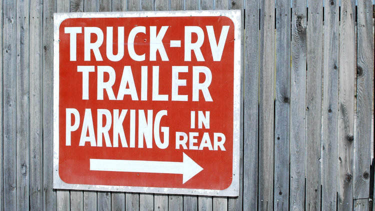 Recreational Vehicle Parking