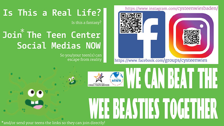 Teen Center Social Media