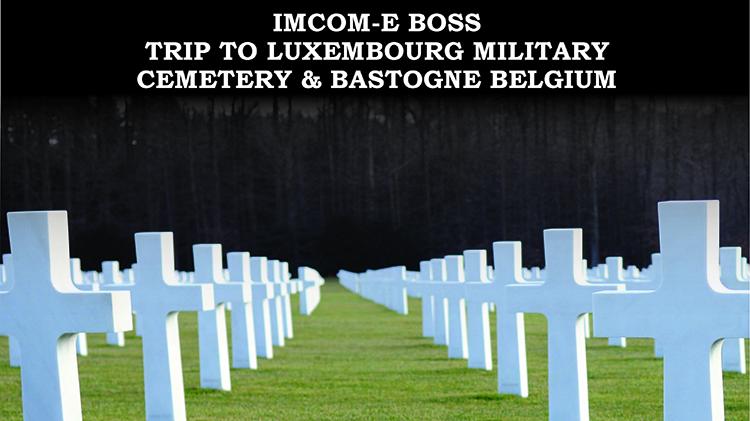 IMCOM-E BOSS Veterans Day Trip