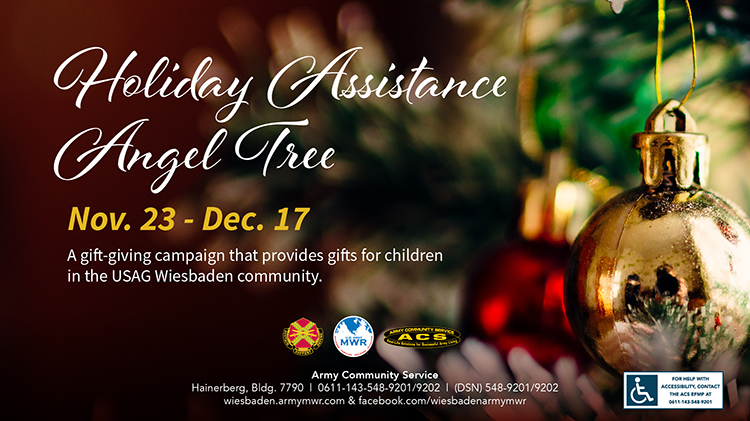 Holiday Assistance Angel Tree