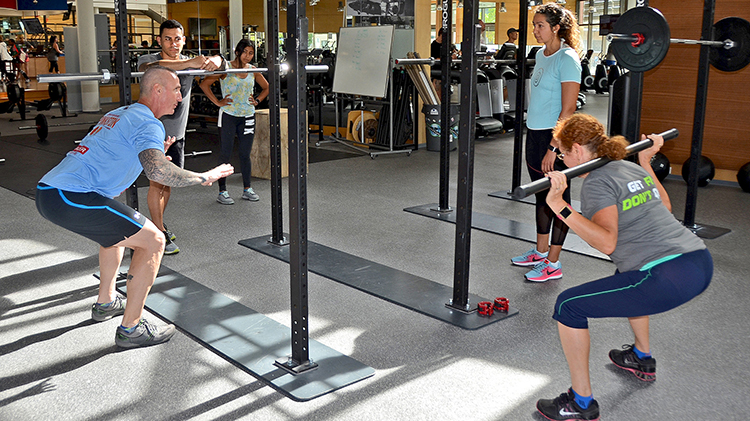 International Women's Day Functional Fitness Throw Down