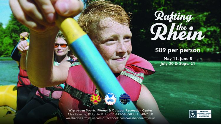 Rafting the Rhein