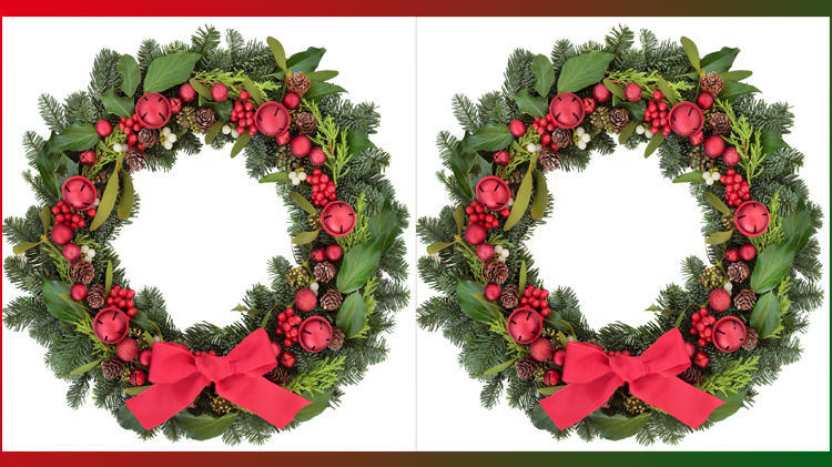 Holiday Wreath Crafting