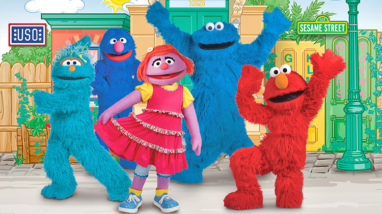 Sesame Street/USO Experience for Military Families