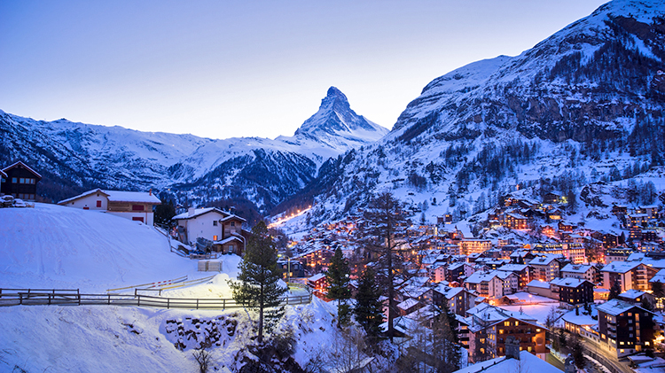 Thanksgiving Ski Trip to Zermatt, Switzerland