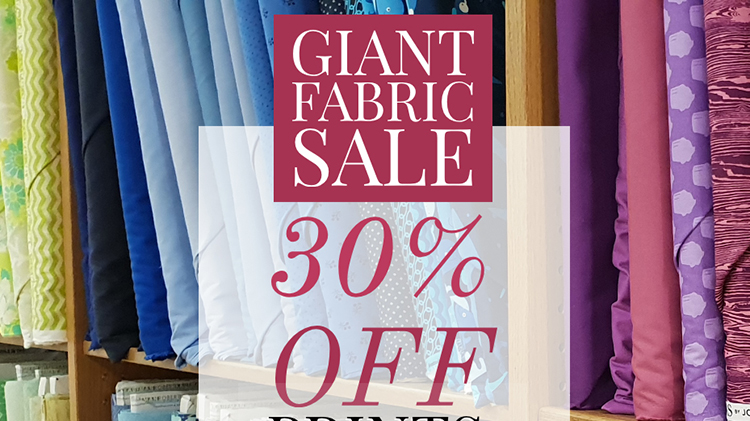 Giant Fabric Sale