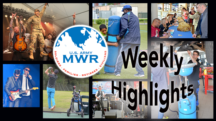 MWR Weekly Highlights