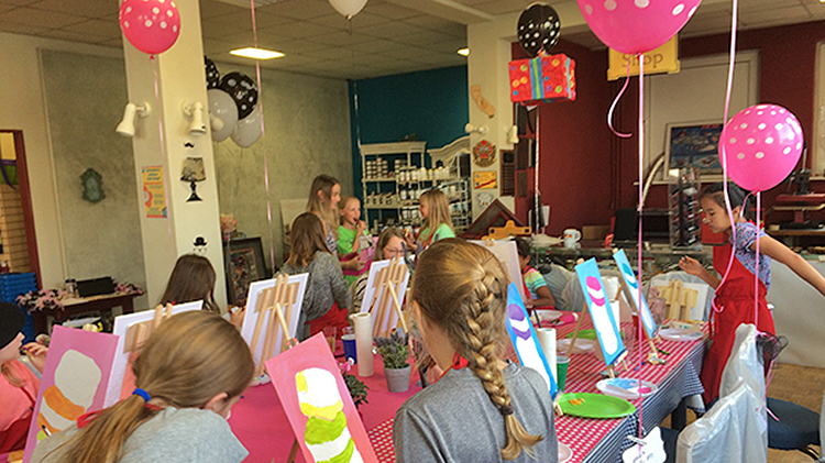 Birthday Painting Parties