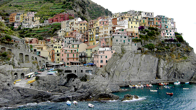 French Riviera and Cinque Terre