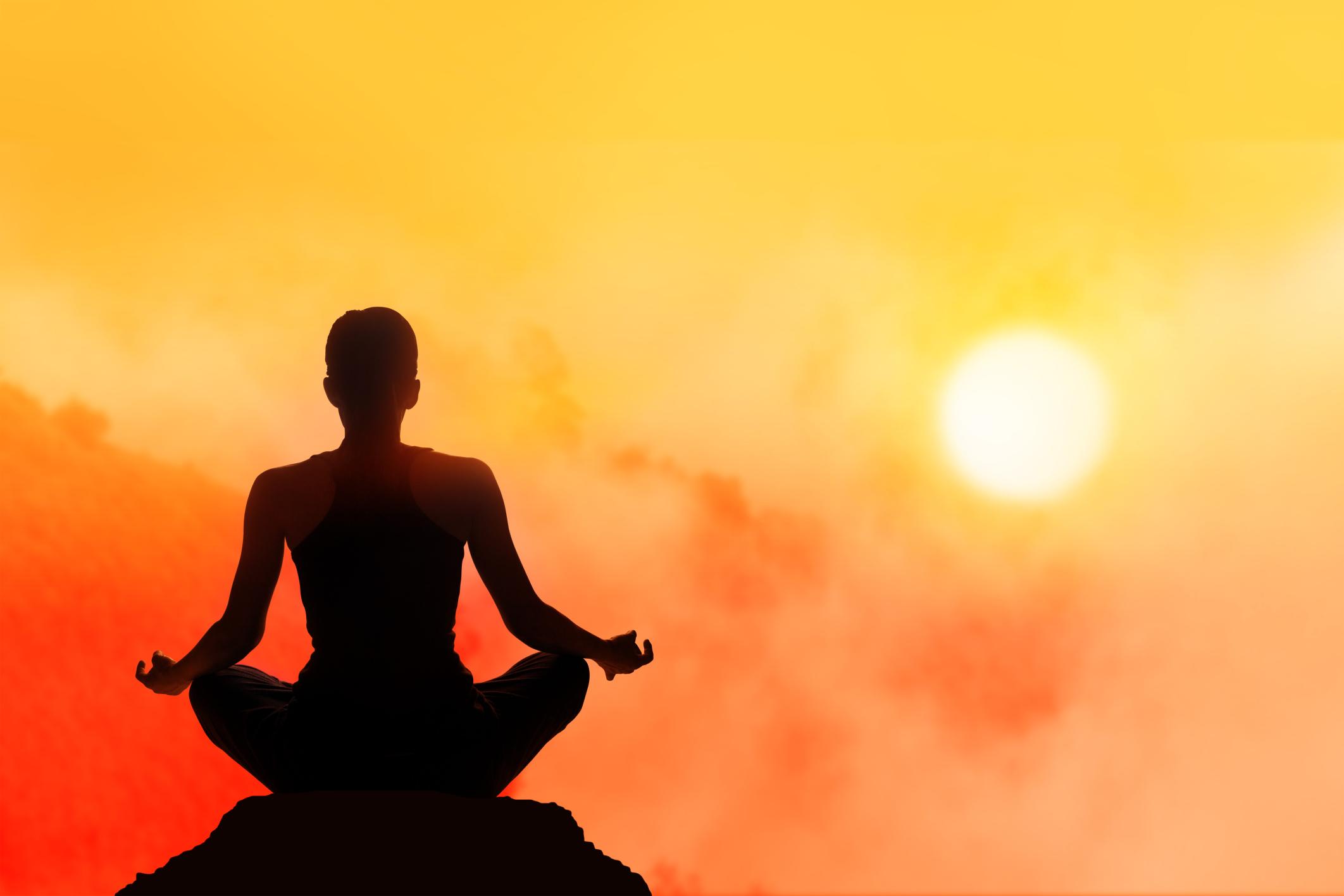 New Year Start Mindful Meditation
