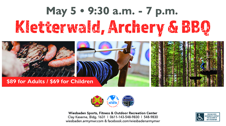 Archery, Ropes Course and Barbecue