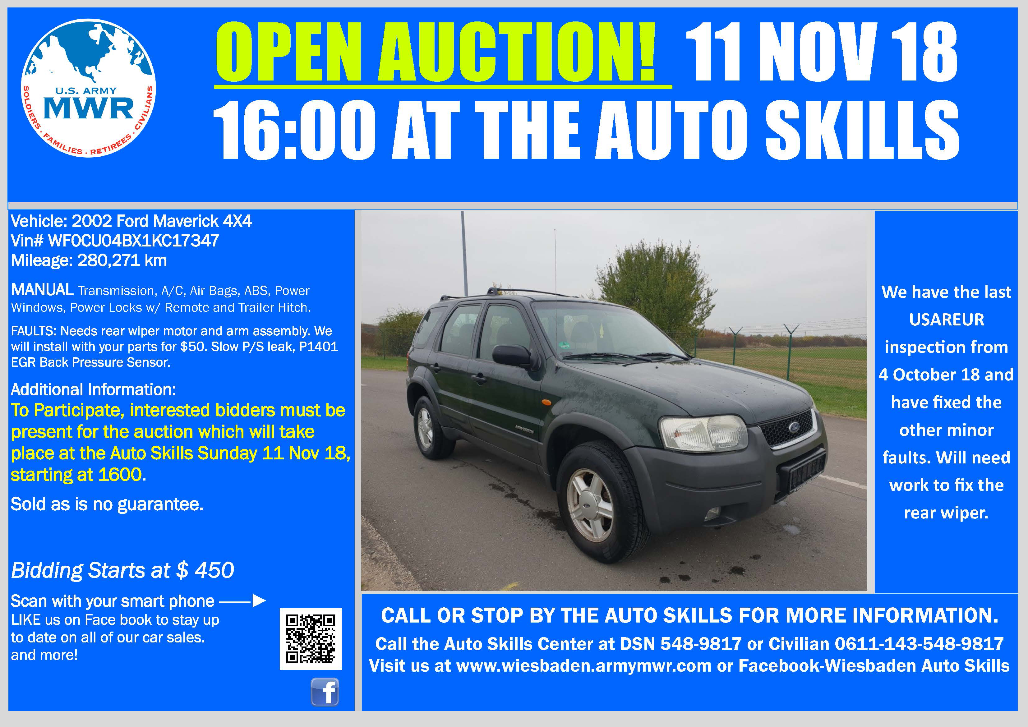 Sale Ford Maverick 11 Nov 18 Open Auction.jpg