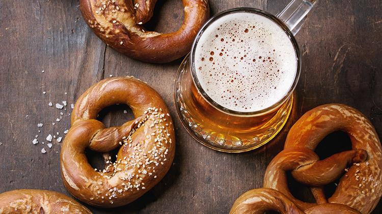 Beerfest Yoga, Beer and Pretzels