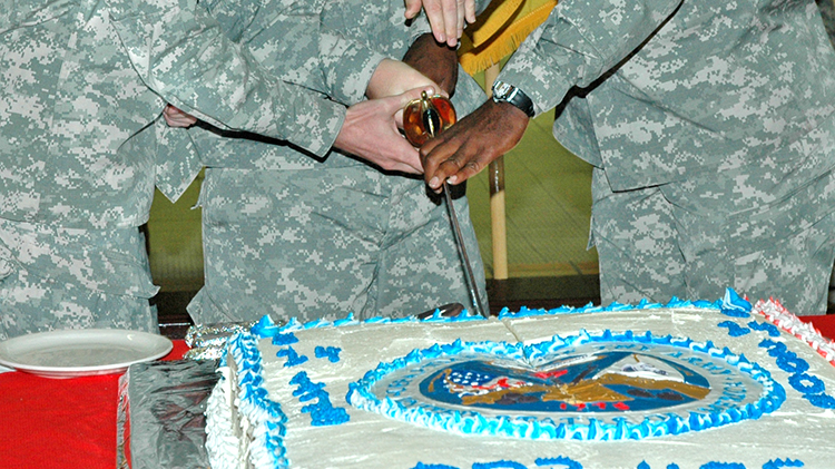 Army Birthday Cake Special