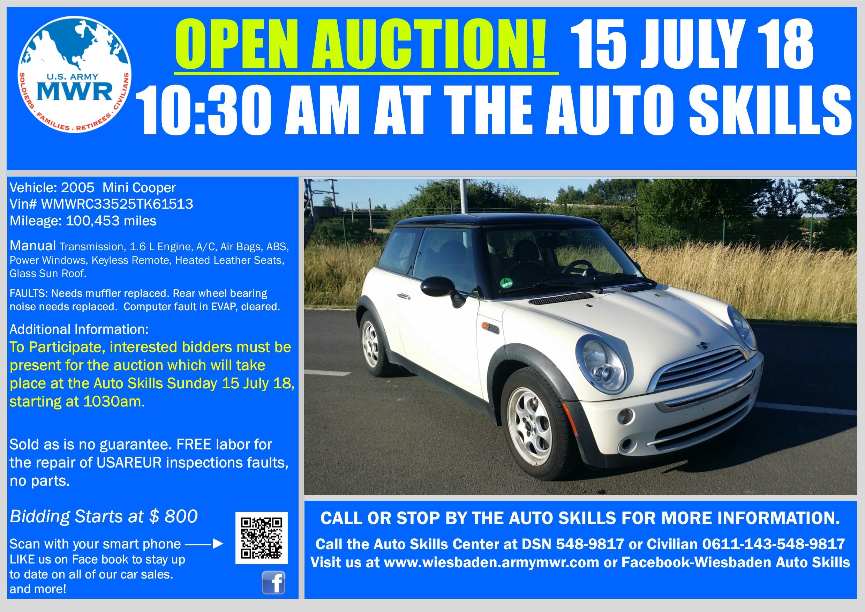 Sale Mini Cooper 15 July 18 Open Auction.jpg
